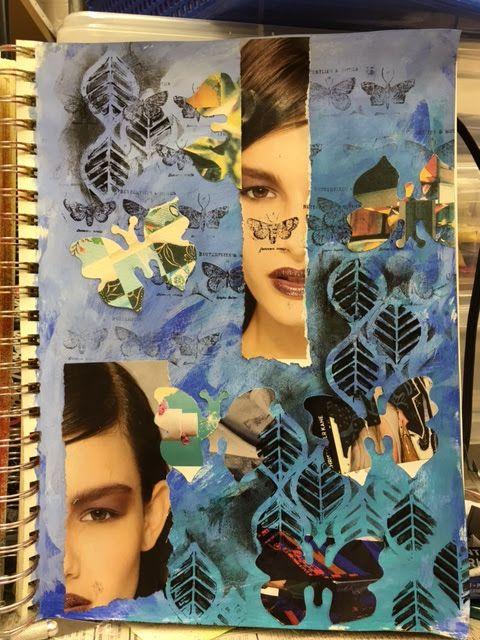 Carmen B. Norris: Art Challenge- 15 Days of 15 minute Mixed Media-5/...