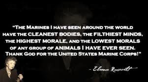 Eleanor Roosevelt On Marines Remarkable Pinterest Marine