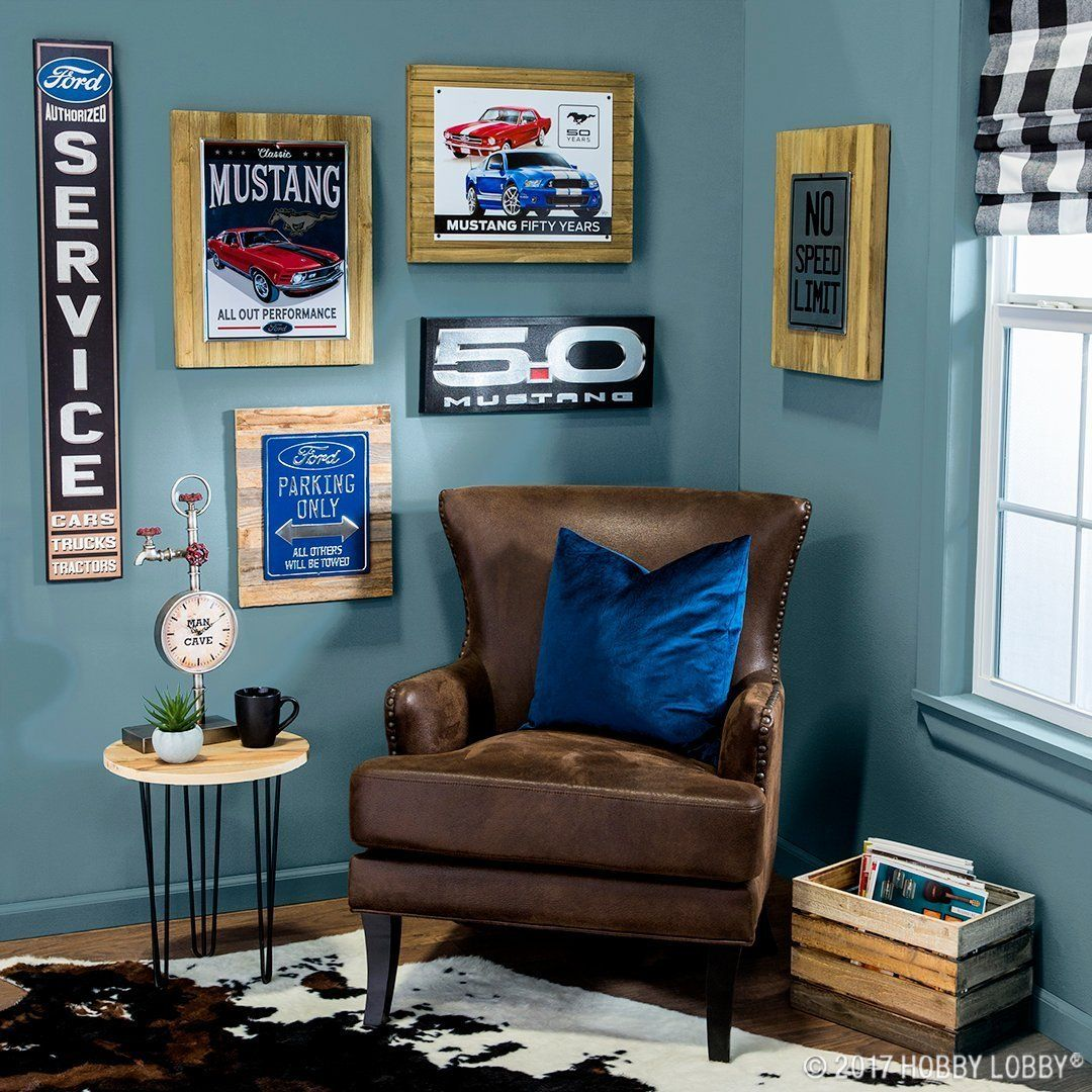Ready To Redo Dad S Space Find Man Cave Must Haves That Are Sure Suit His Style Home Decor Kids Room Wall Color