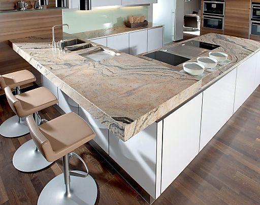 Strasser ist der Trendsetter bei Küchen-Arbeitsplatten aus Stein ...