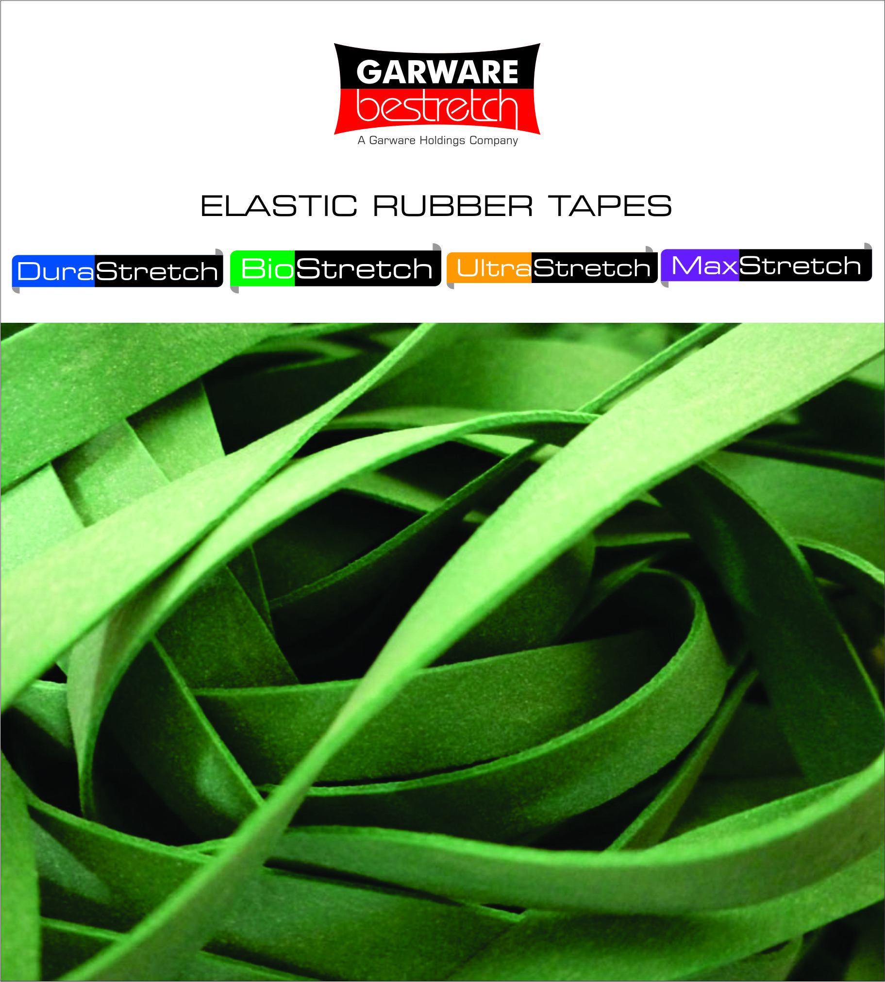 Elastic Rubber Tapes has insert elastics for home textile