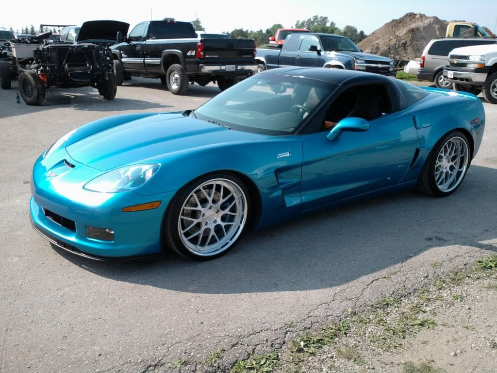 Corvette C6 Z06 Dances to the Tune of D2FORGED Wheels | cars ...
