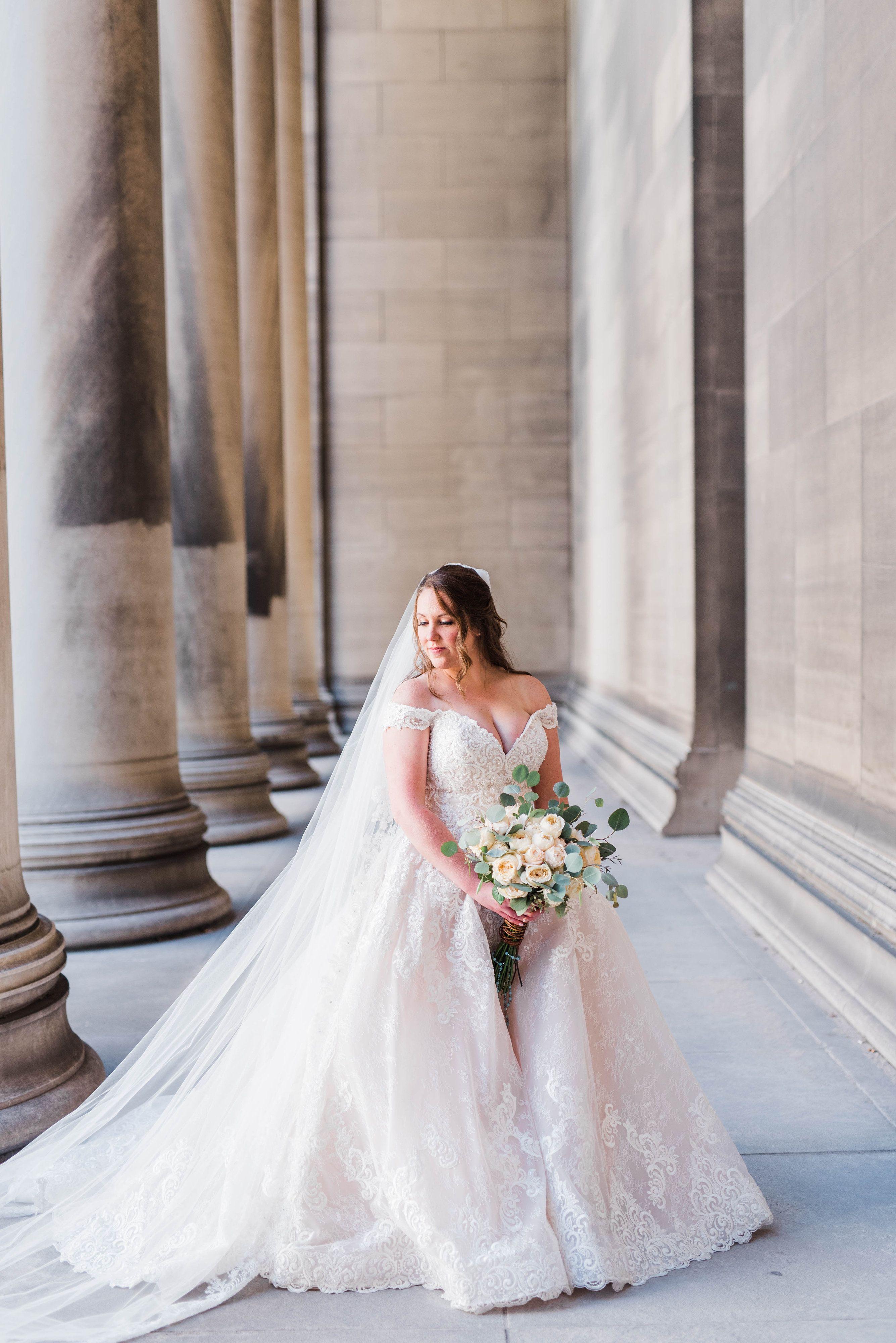 Heinz Chapel Lemont Wedding Ashleigh Adam Pittsburgh Wedding Portrait Photographer Kathryn Hyslop Photography Modern Pittsburgh Photographers Ball Gowns Wedding Elegant Wedding Gowns Beautiful Wedding Dresses