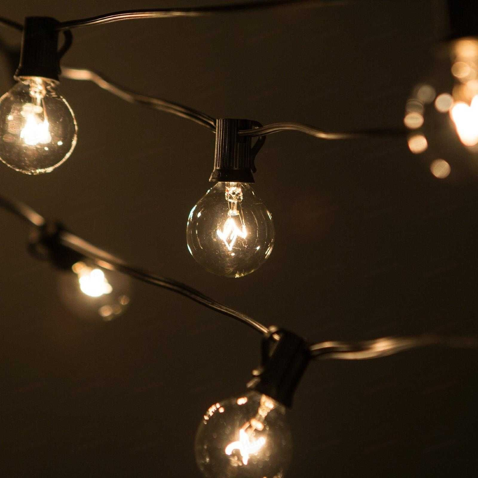 Outdoor string lights big bulbs httpjohncow pinterest outdoor string lights big bulbs aloadofball Gallery