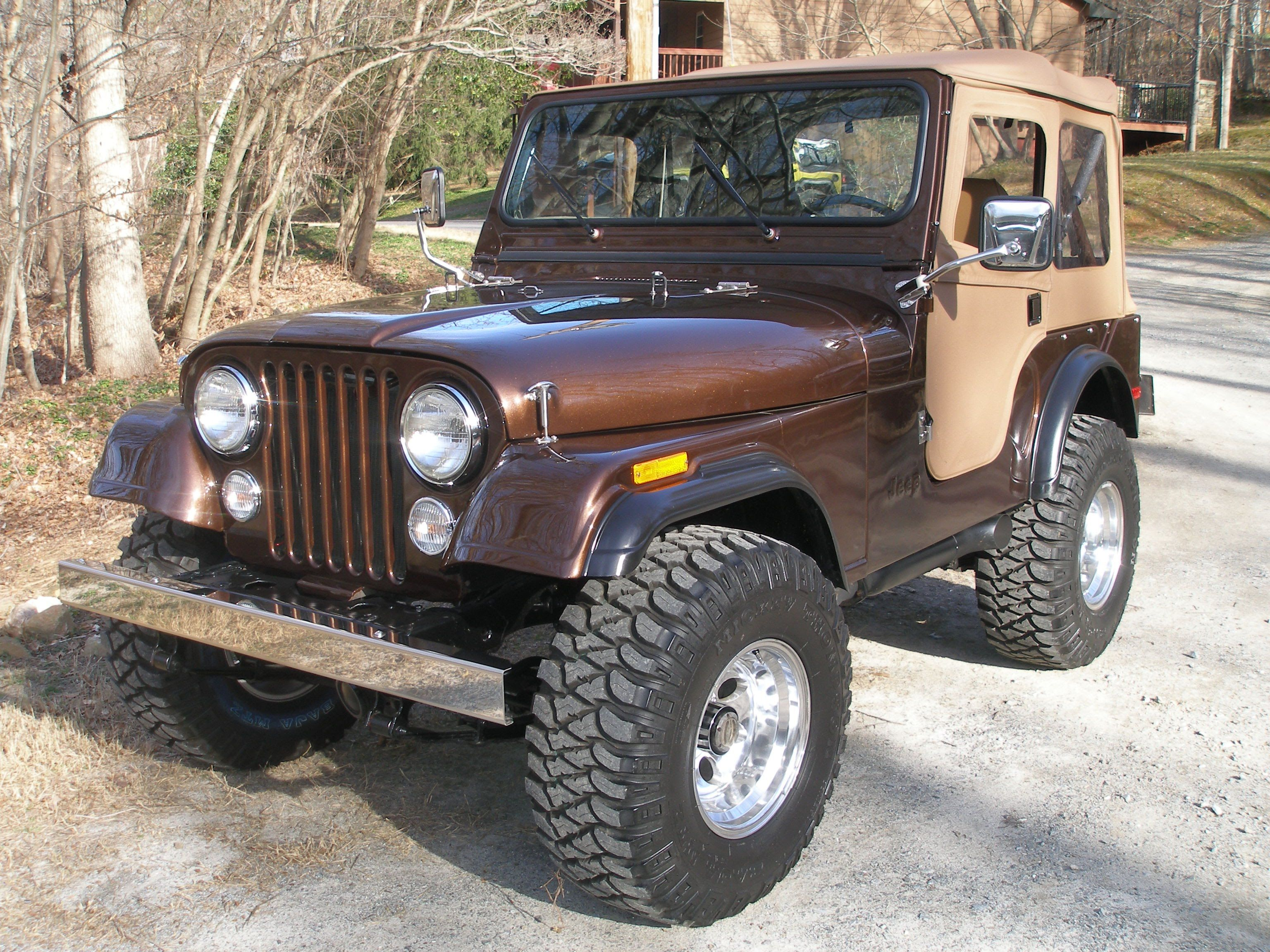 1976 CJ5 sable brown metallic 2 | Jeep | Pinterest | Jeeps, Jeep cj ...