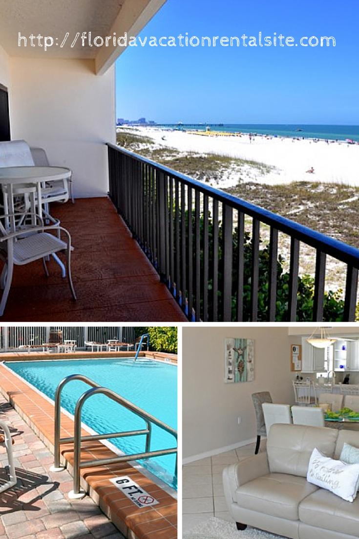Clearwater Beach Weekly 3 Bedroom Vacation Rental
