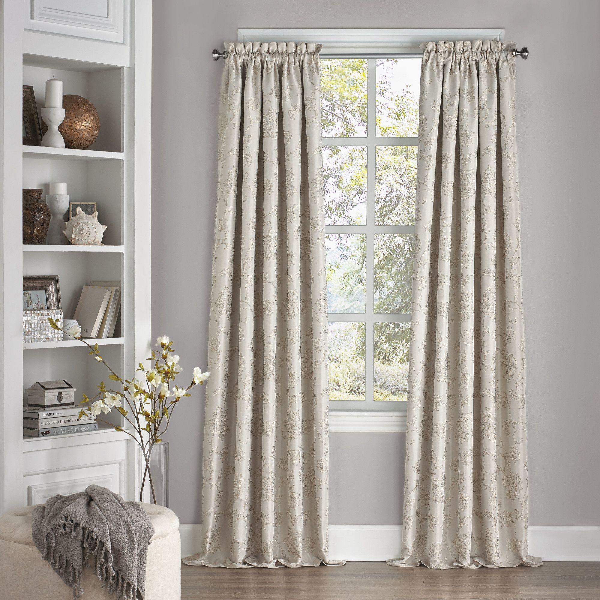 Erma Blackout Thermal Single Curtain Panel