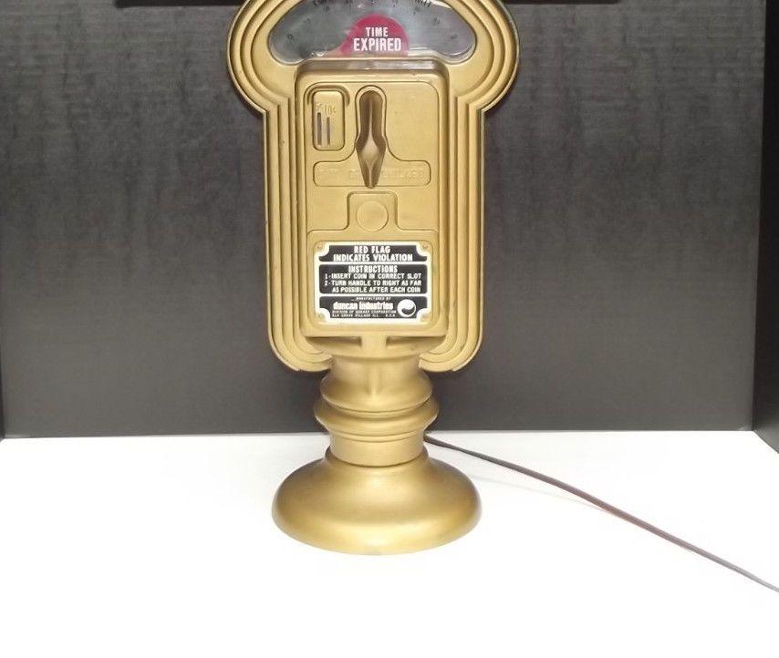 Light Fixtures Chicago: Duncan Miller Parking Meter Lamp Light Vintage 1960's City