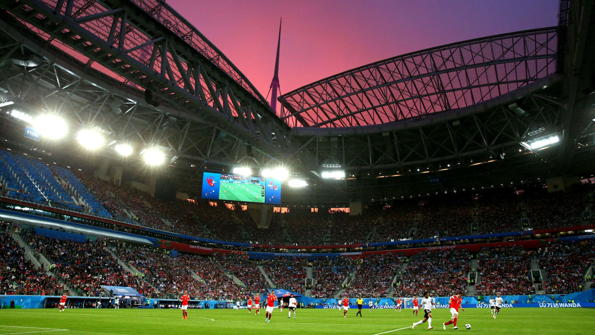 Fifa 2018 News Saint Petersburg S Story So Far As 12 Stadiums Has Slimmed Down To Its Final Two Even Though The Most Important Fifa World Cup New Saints Fifa