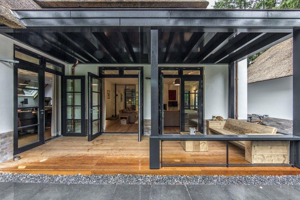 Luxe terrasoverkapping | veranda ideas outdoor | veranda interieur ...