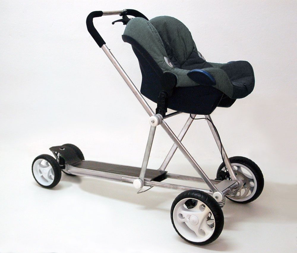 Creative Baby Strollers and Cool Baby Stroller Designs (11) 6
