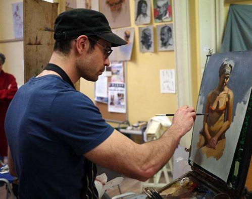 Conseils Au Sujet De La Peinture A L Huile Technique Directe Peinture Cours De Peinture Le Magicien Des Couleurs