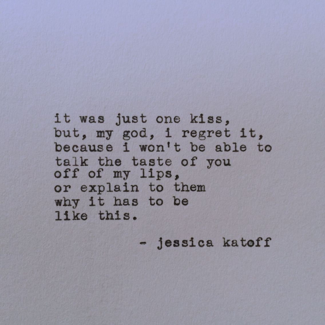Original Poetry By Jessica Katoff Http Etsy Com Shop