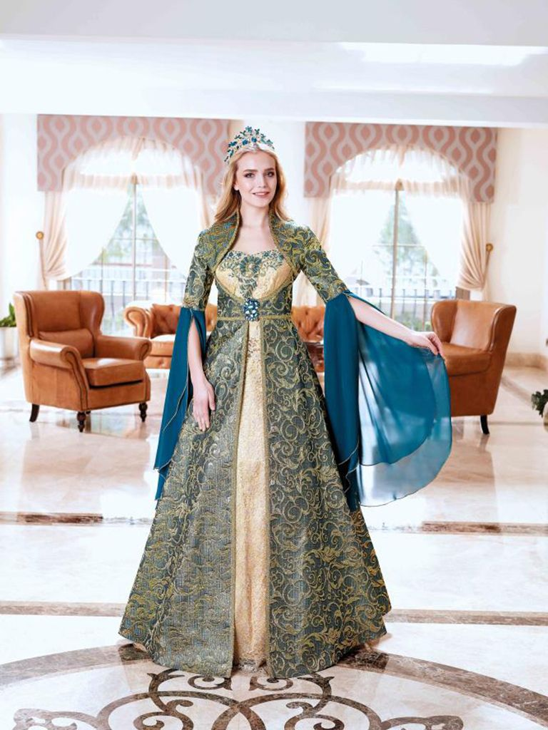 Sultan Dress Henna Bindalli Custom Design Kinalik