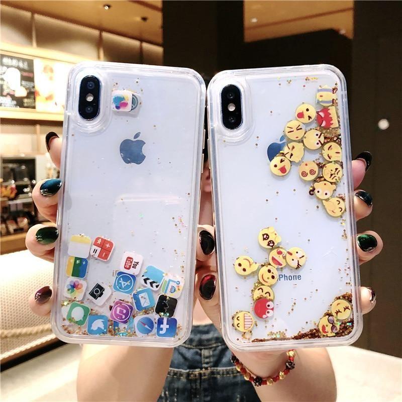 Express Yourself Floating App Emoji Iphone Case Beautiful Fun Love Iwishihadthis Icoulduseawishrig Chehly Dlya Iphone Chehol Na Iphone Chehly Dlya Telefona