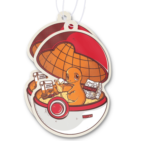 Red Pokehouse Air Freshener in 2020 Air freshener, Red
