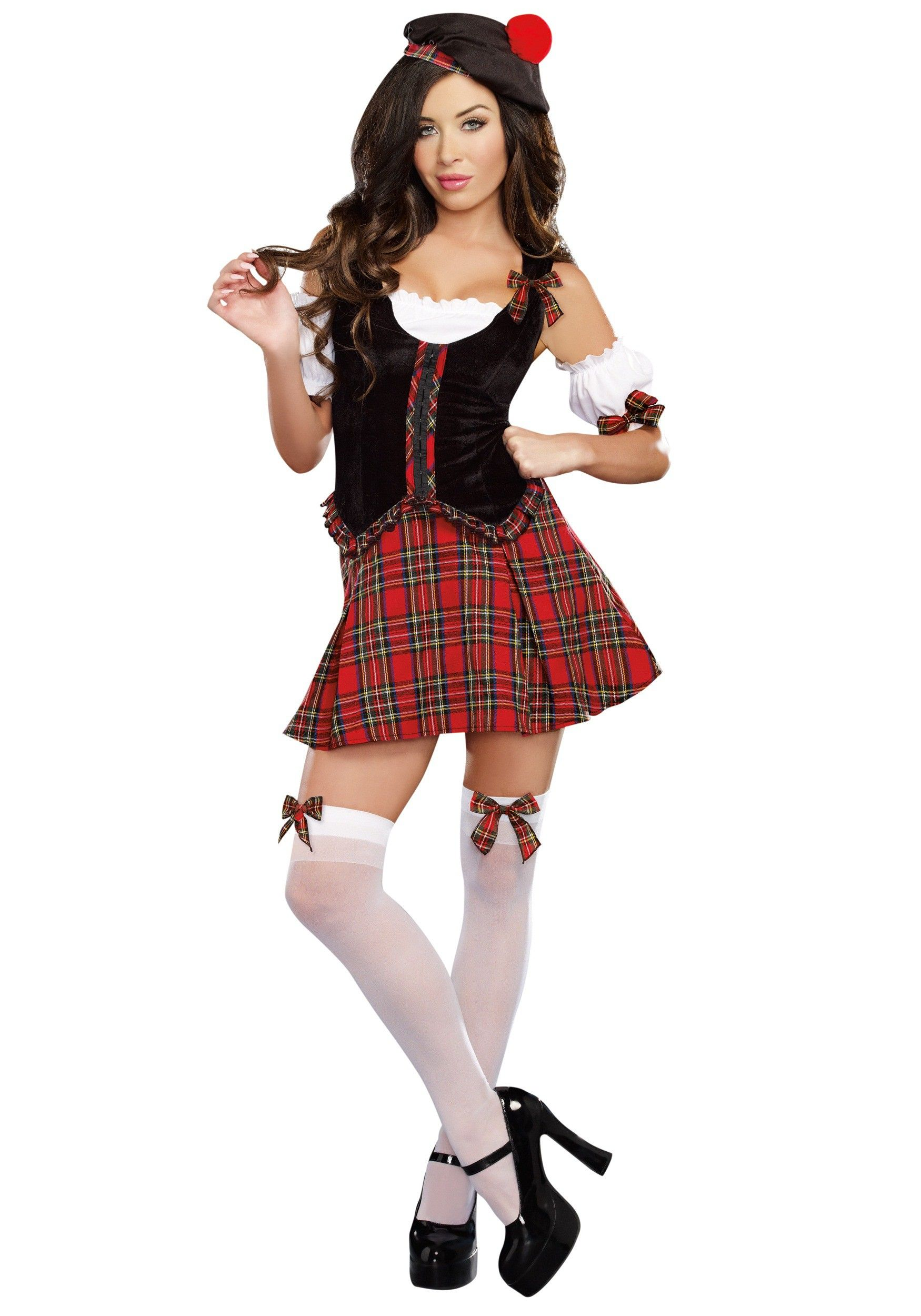 scotty hotty womens scottish costume - Scottish Girl Halloween Costume