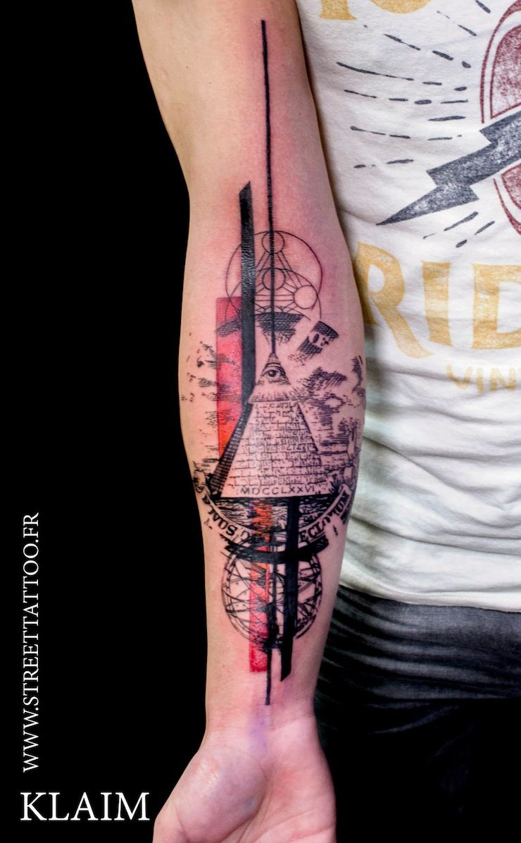 Flowers Tattoo By Klaim Street Tattoo: KLAIM, Street Tattoo