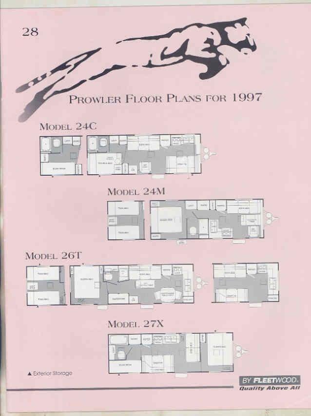 1997 fleetwood prowler floor plan travel trailer brochure t5874 1997 fleetwood prowler floor plan travel trailer brochure t5874 6j9wkf asfbconference2016 Choice Image