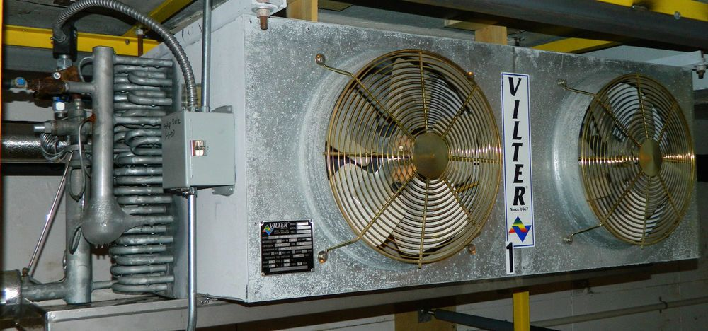 Vilter Dual 2 Fans Ammonia Refrigeration Cold Air Cooling
