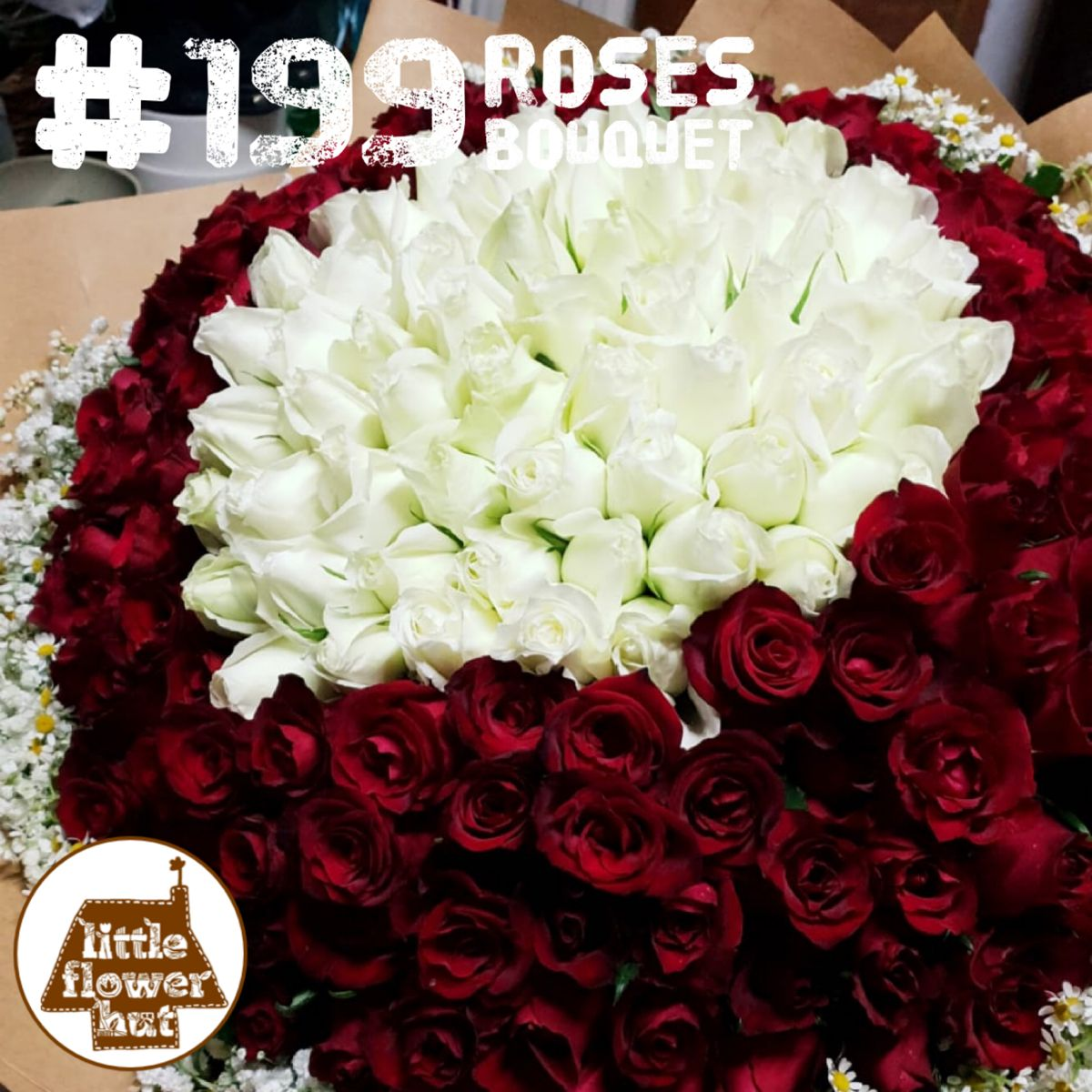 Buy Impressive Luxurious 99 Roses Bouquet Singapore (With