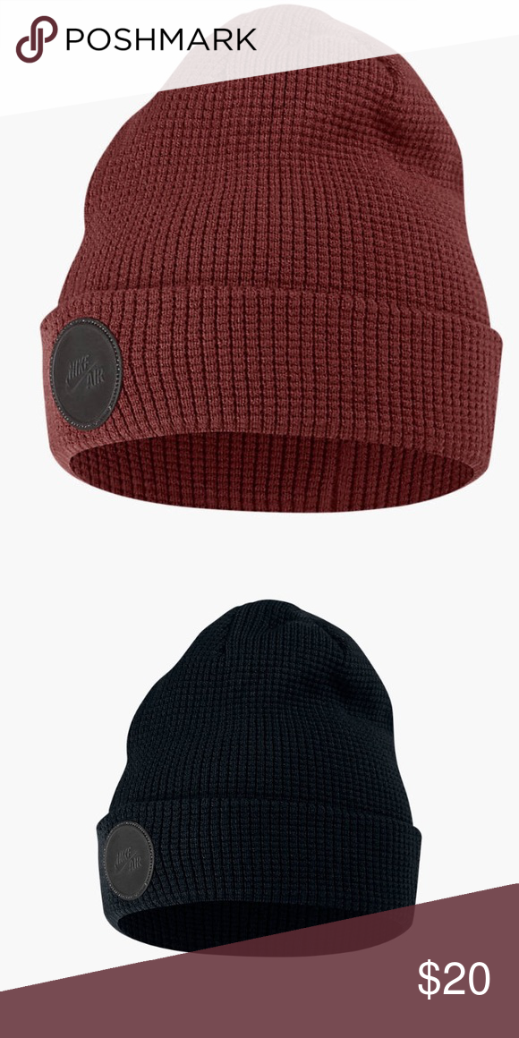Unisex Nike air beanie hat Brand new fits all sizes unisex available in  both colors still have tags Nike Accessories Hats f05db50fc705