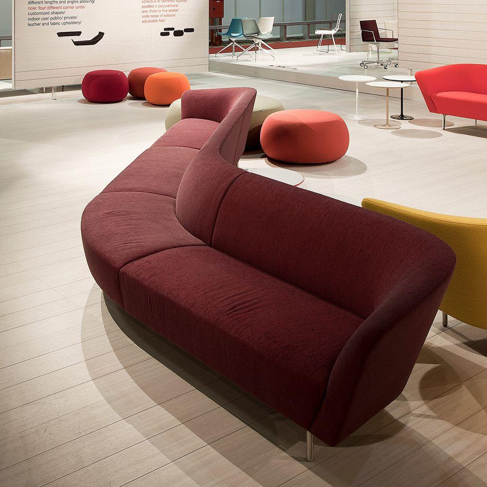 LOOP Arper Modular sofa / contemporary / by Studio Lievore