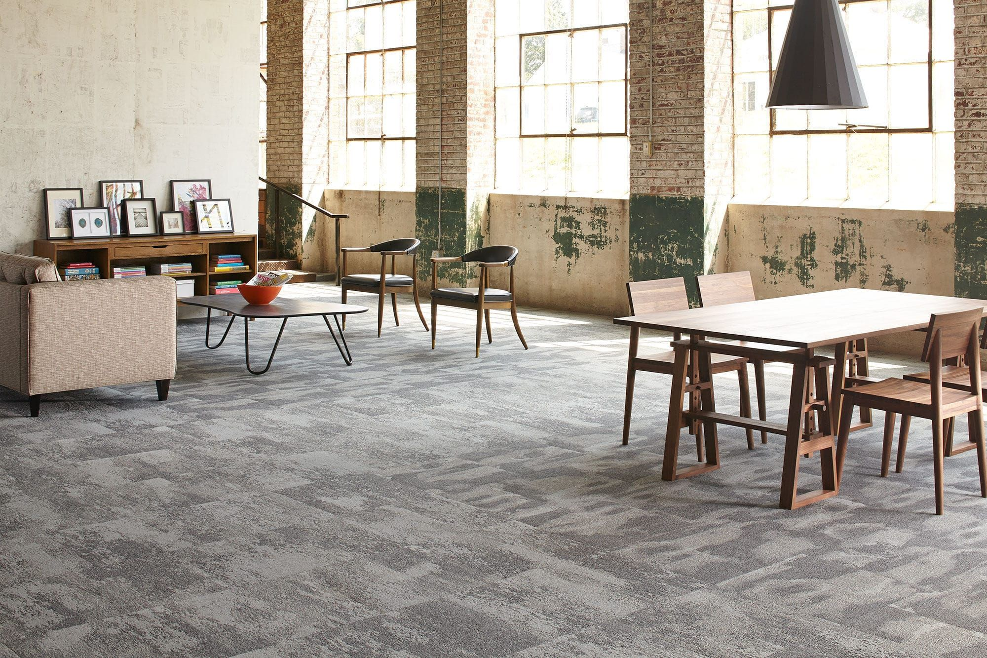 Carpet Tile Tufted Synthetic Pvc Free Surface Study