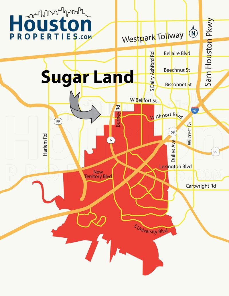 Sugar Land TX Map Great Maps Of Houston Pinterest Sugar Land - Tx map