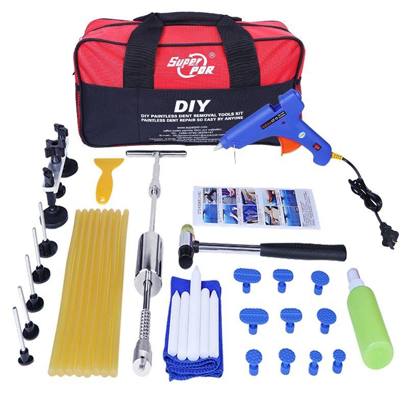 Car Body Repair Kit Paintless Dent Repair Tools Dent Removal