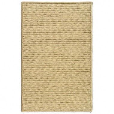 Colonial Mills Simply Home Solids Buff Braided Rug - H890