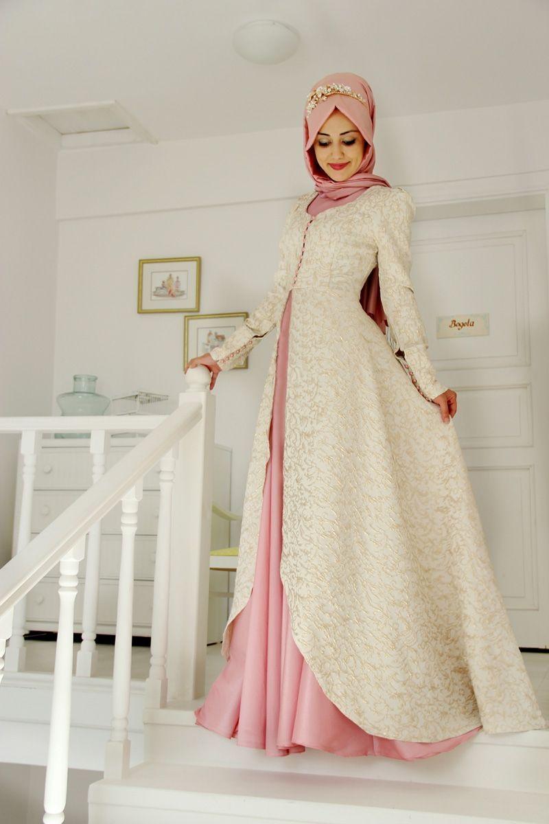 3311557407e5d Genç stil tesettür abiye modelleri | clothes | Elbise düğün, Elbise ...