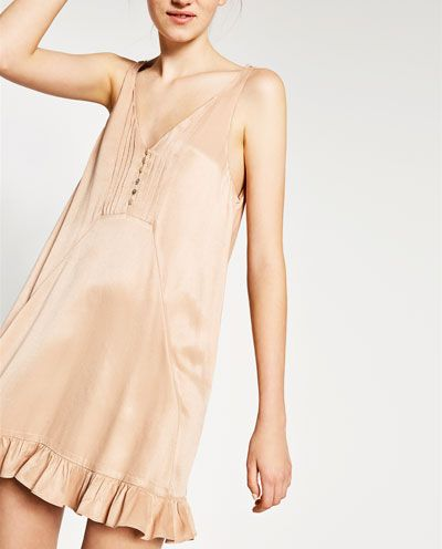 Image 2 of CAMISOLE DRESS from Zara | Camisole dress