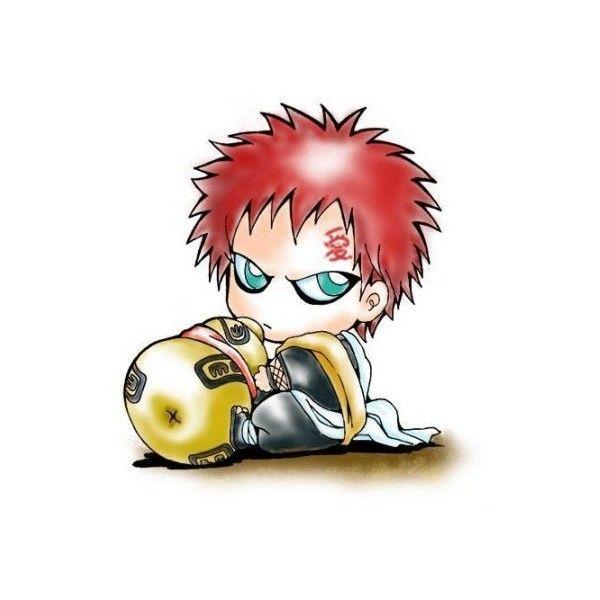 Gaara Chibi Naruto Pictures Liked On Polyvore Featuring Naruto Anime Chibi Chibi Gaara