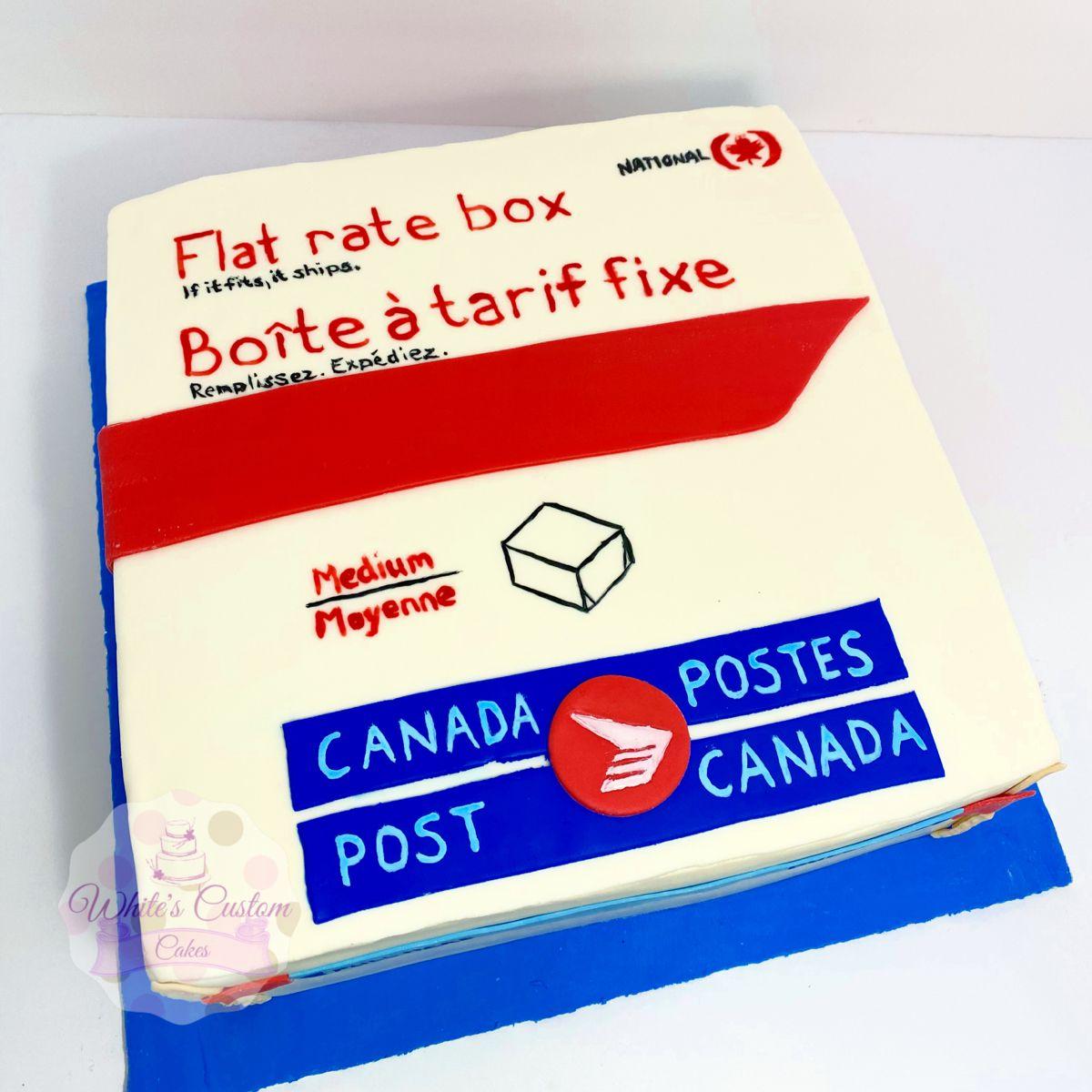 Canada post cake in 2020 custom cakes checkered cake cake