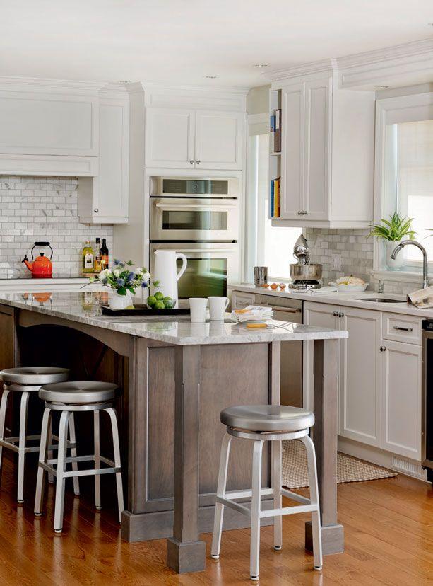 r no cuisine des ann es 60 ouverte et lumineuse d cormag cuisines d cormag pinterest. Black Bedroom Furniture Sets. Home Design Ideas