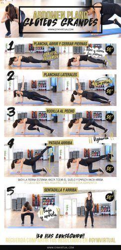 dieta y ejercicio para obtener un abdomen plano