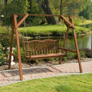 Jordan Manufacturing Prescott 4 Ft Alpine 2 Person Porch Swing