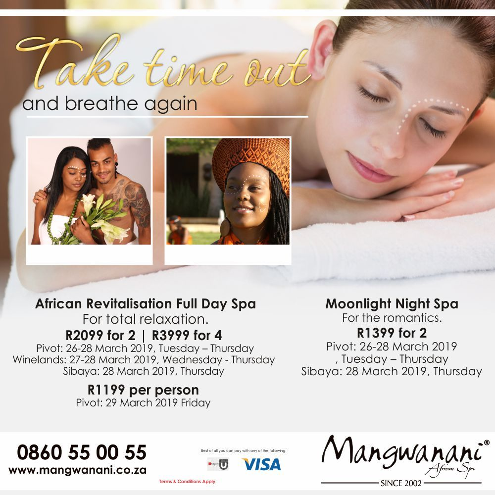 A Week Of Tranquility And Bliss With Mangwanani African Spa You