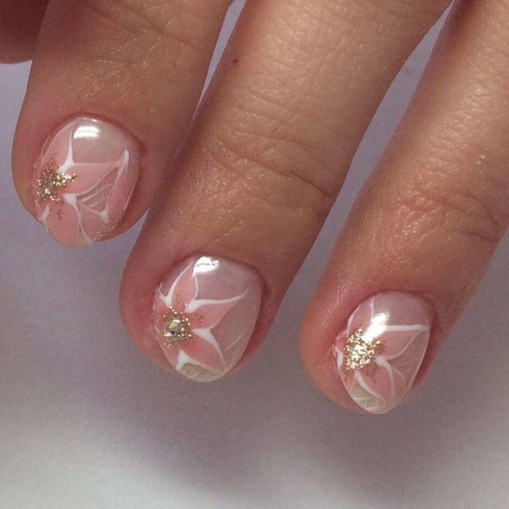 50 Nail Art Designs For Very Short Nails 2018 Nails Pinterest