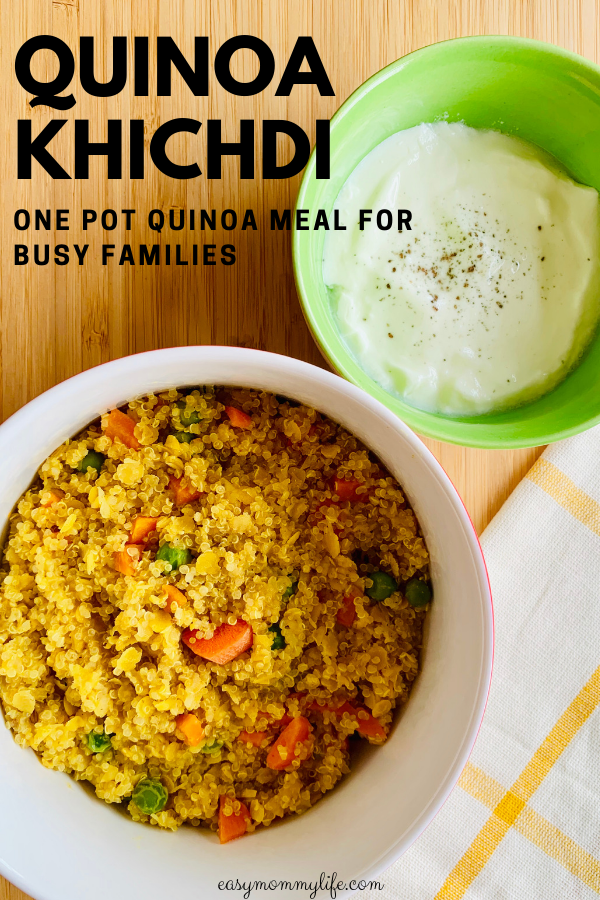 One Pot Quinoa Khichdi images