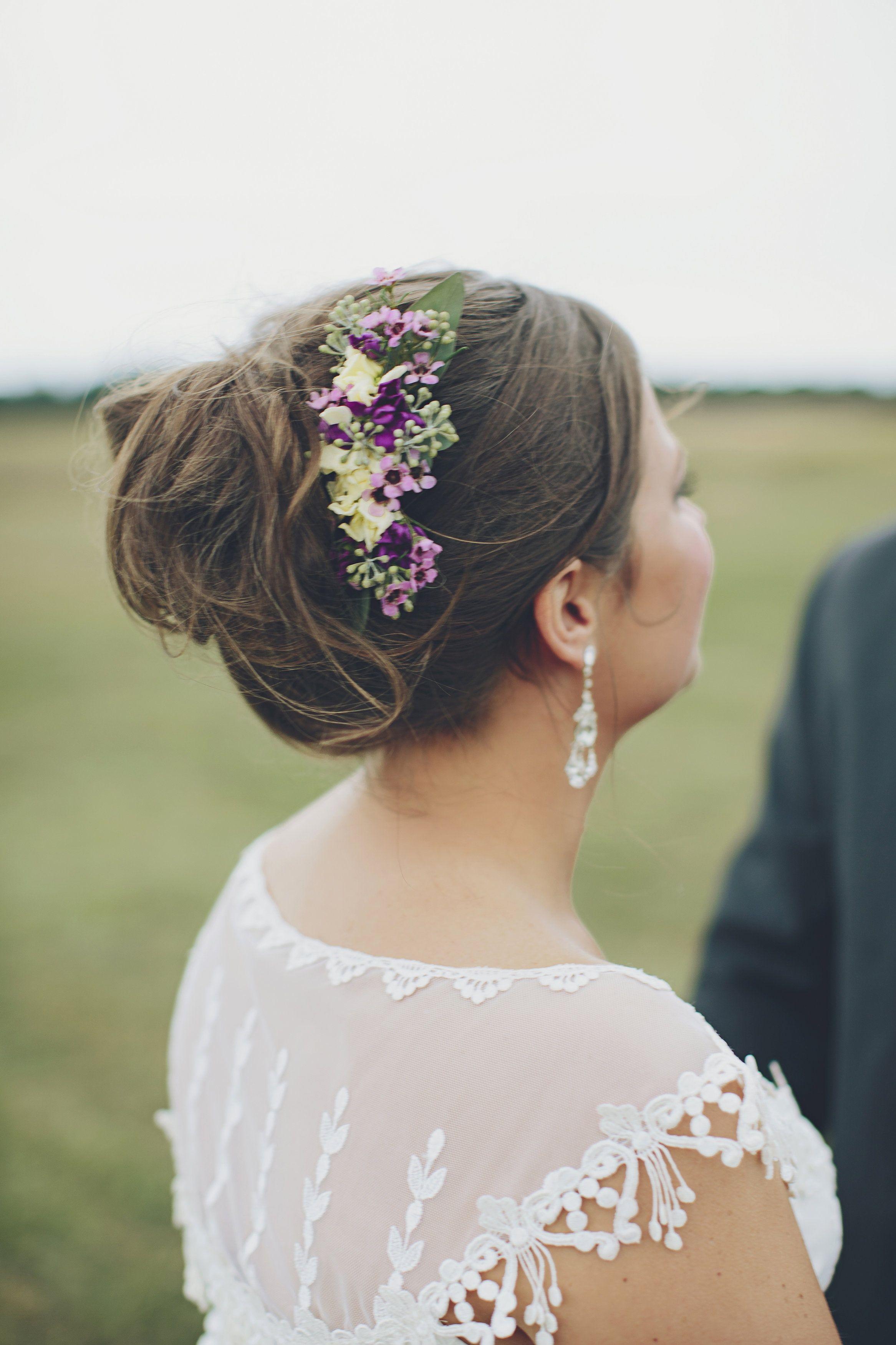 Fresh Flower Hair Decoration | Brooke Courtney Photography ...