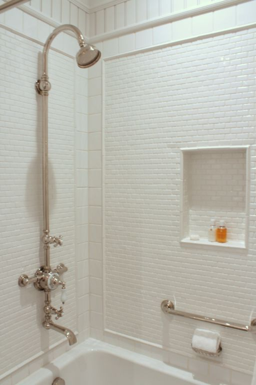 Well Done Tile Placement With Images House Bathroom Guest Bathrooms Tile Bathroom