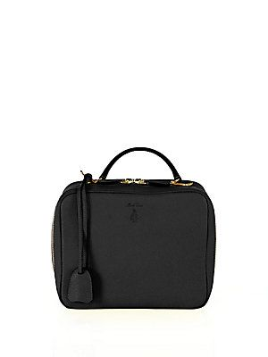 Mark Cross Laura Baby Leather Camera Bag - Black - Size No Size