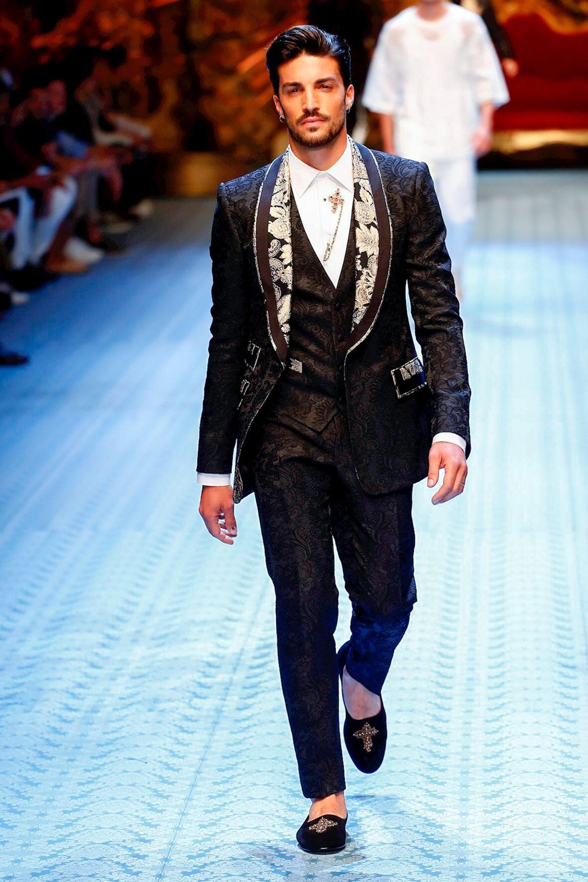 Dolce & Gabbana Menswear Spring Summer 2019 Milan