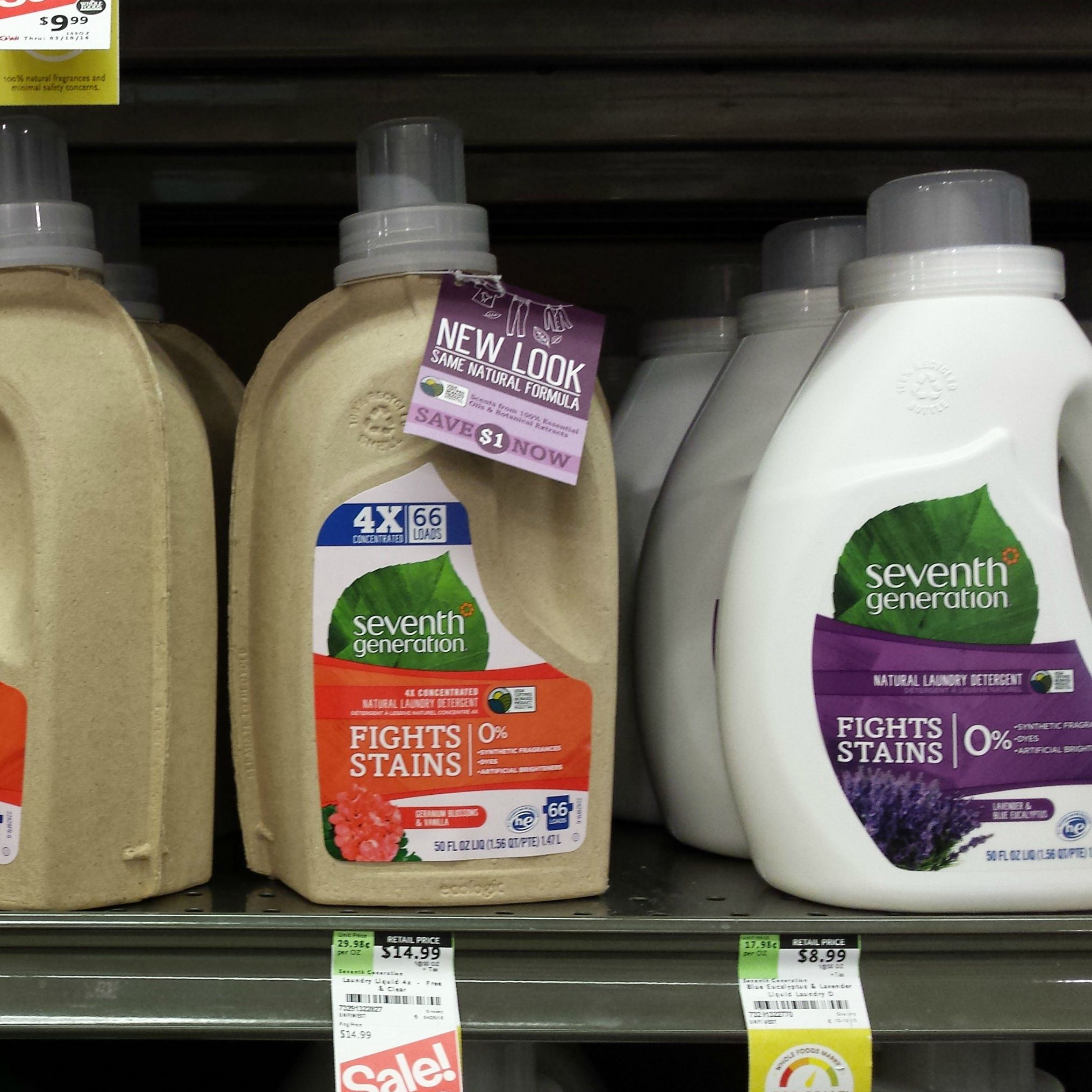 The Seventh Generation Brand Of Green Cleaning Products Has