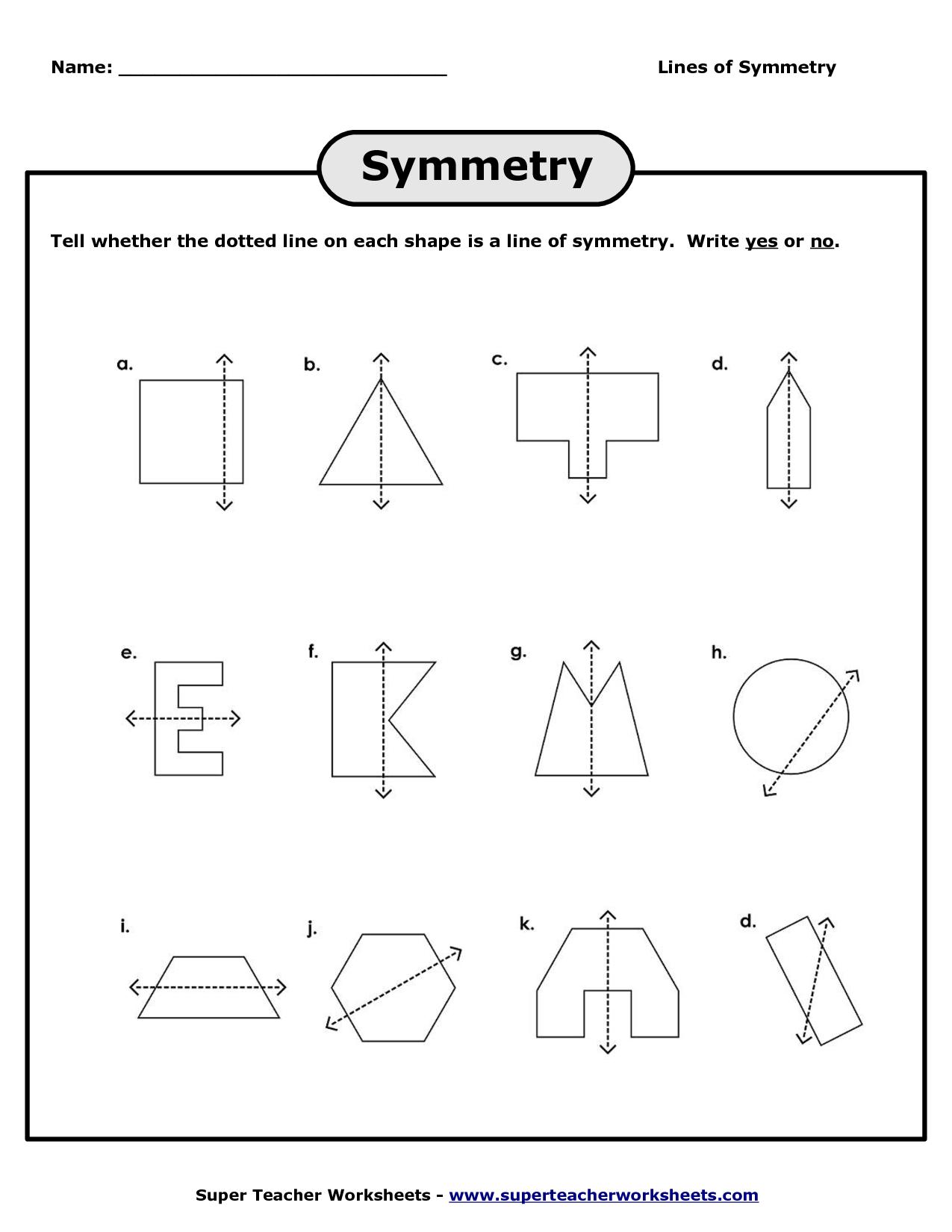 symmetries   Symmetry worksheets [ 1650 x 1275 Pixel ]