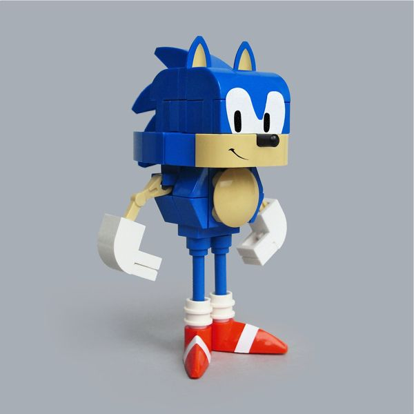 Lego Sonic The Hedgehog Ish Lego Sonic Lego City Undercover