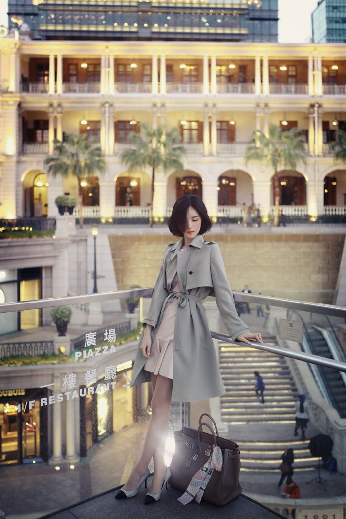ADORABLE coat+dress combo