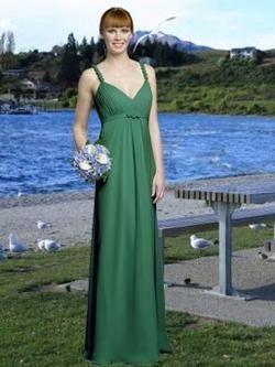 Green Evening Dress for...